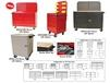 """ACCESSORIES FOR 24"""" AND 48"""" MODULAR MOBILE CABINET WORKCENTER BASE UNITS"""