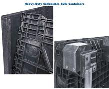 HEAVY-DUTY COLLAPSIBLE BULK CONTAINERS
