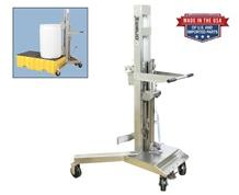 STAINLESS STEEL DRUM TRANSPORTER/LIFTER